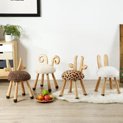 Wooden Animal Chairs-Deer