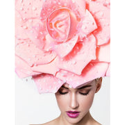 Villeurbanne - Pink Rose Couture Hat