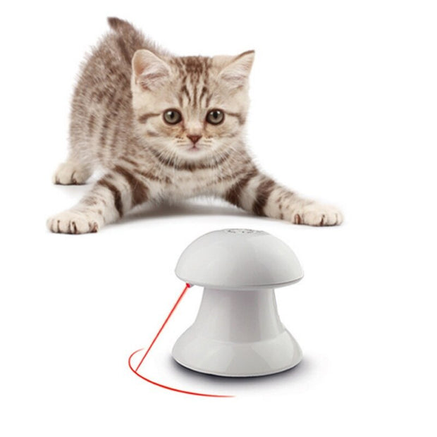 Non-directional Spinning Laser Cat Toy - THE BENJAMIN ORGANIZATION