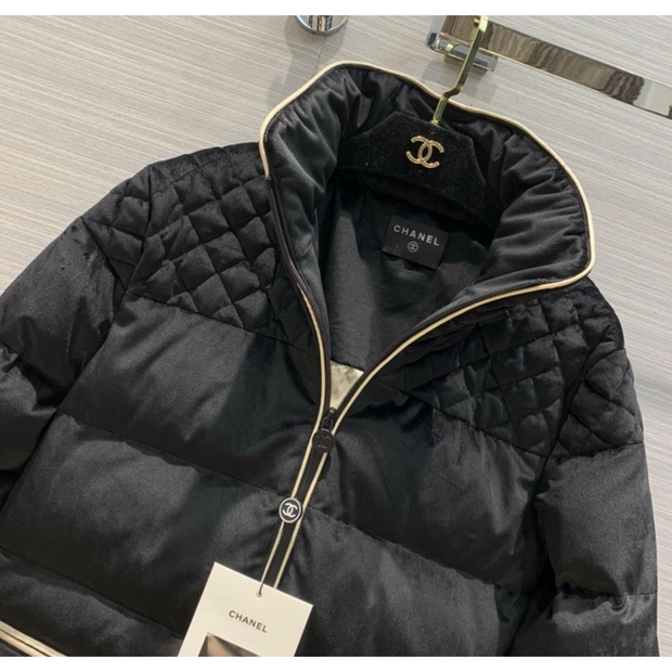 High Collar Padded Jacket