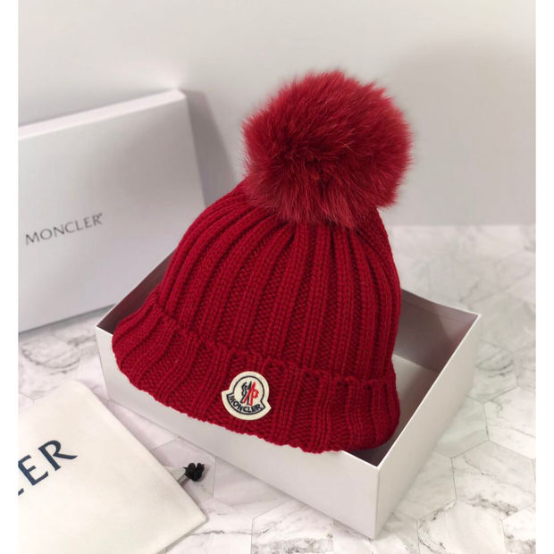 Moncler Winter Hat with Pom