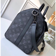 Black Monogram Keepall Bandoulière 45