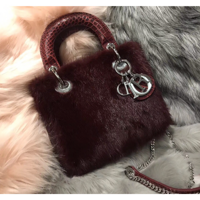 MINI LADY DIOR BAG Fur