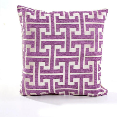 Tammy Sills Purple Pillow cover