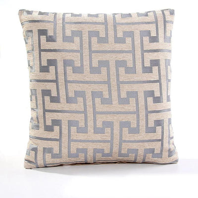 Tammy Sills Beige Pillow cover