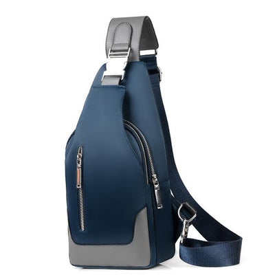 Academy Crossbody Blue Bag - Men's Sling Bags