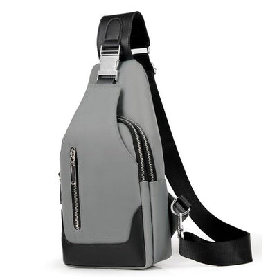 Academy Crossbody Gray Bag - Men's Sling Bags