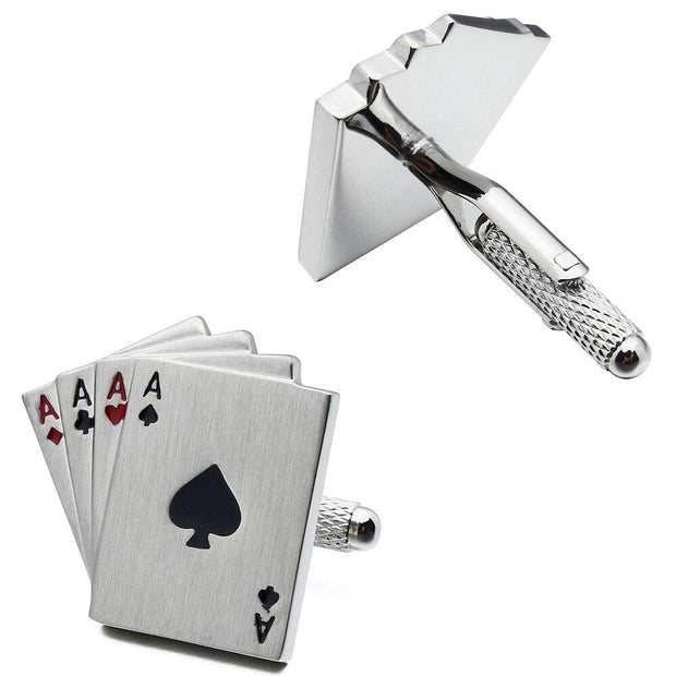 Ace of Cards Cufflinks - Men's cufflinks