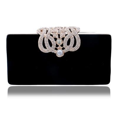 ADDISON -Crystal Embellished Clutch - Women's Bags