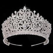 Adelaide Tiara - sliver - Hair Jewelry