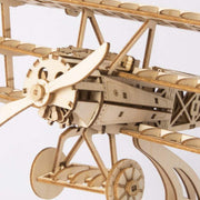 Airplane-Wood Craft Airplane 3D Wooden Puzzle - Airplane -
