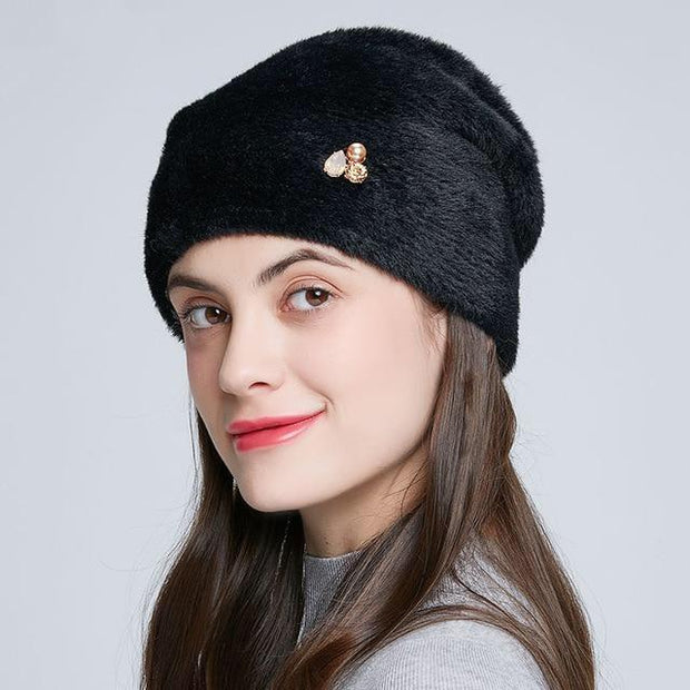 Alondra - Black / One Size - womens winter hats