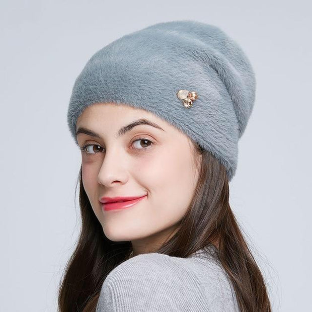 Alondra - Gray / One Size - womens winter hats