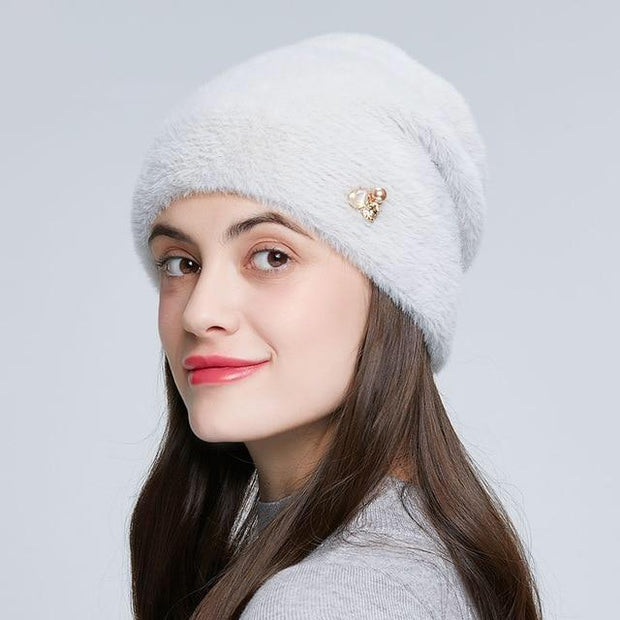Alondra - White / One Size - womens winter hats