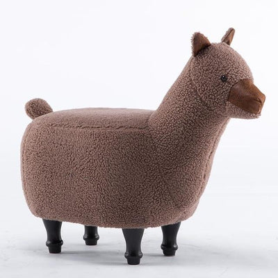 Alpaca Ottoman - stools and ottomans