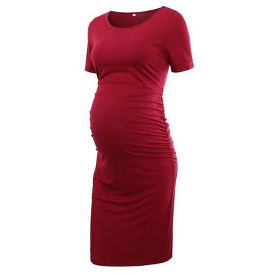 ANGEL - Maternity Bodycon Dress - pic 17 / L - women's