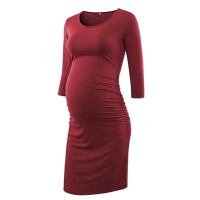 ANGEL - Maternity Bodycon Dress - pic 3 / L - women's