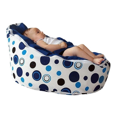 Baby Bean Bag Chair - Blue - Kids Furniture