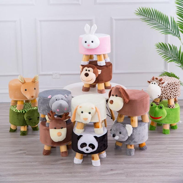 Baby Deer Stool - stools and ottomans
