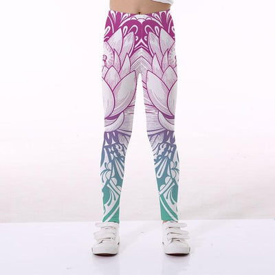 Basics Girls Print Leggings - TYTK-1100 / 11T