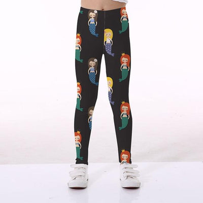 Basics Girls Print Leggings - TYTK-1102 / 11T
