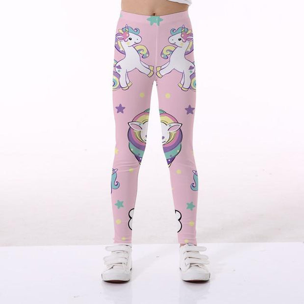 Basics Girls Print Leggings - TYTK-1103 / 11T