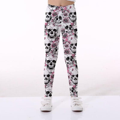 Basics Girls Print Leggings - TYTK-1126 / 11T