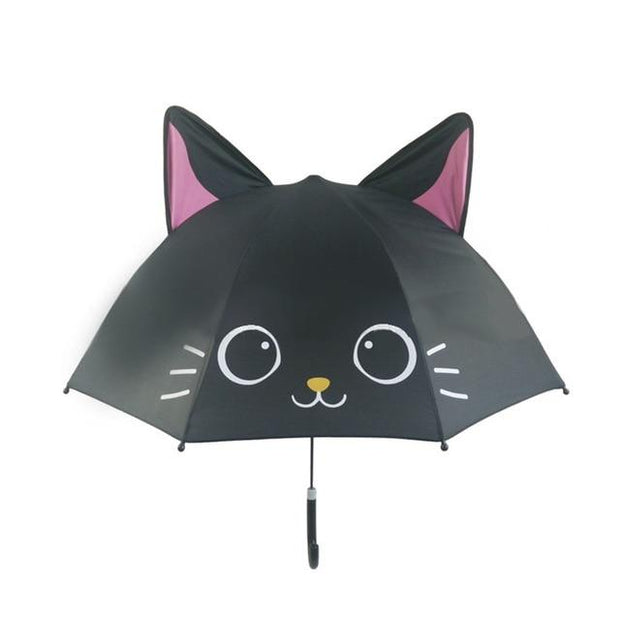 Black Cat 3D Umbrella - Kids Umbrellas