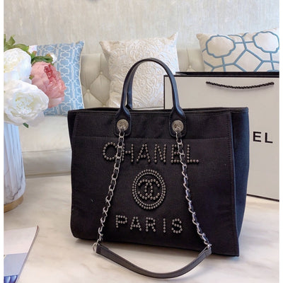 Black Shopping Bag - Women's Bags