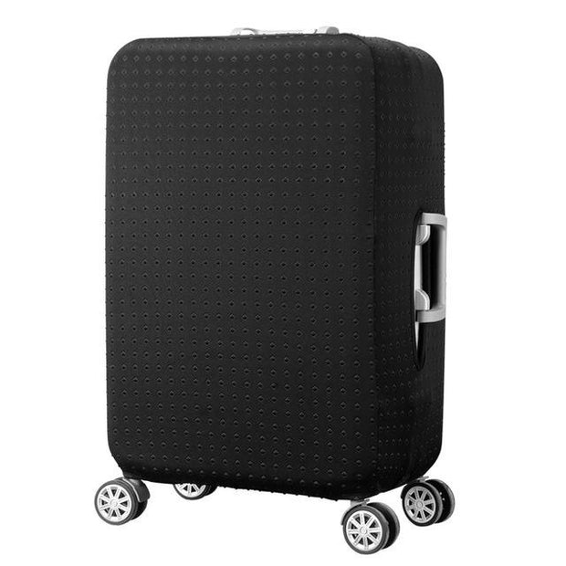 Black with Black Dots Luggage Cover - 10 / S - Luggage