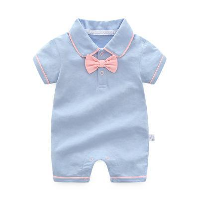 Boy's Romper - blue / 3M - Baby Boys clothing