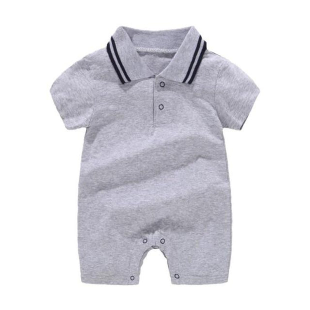 Boy's Romper - qhui / 6M - Baby Boys clothing