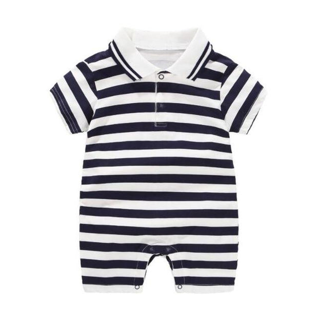 Boy's Romper - tw / 6M - Baby Boys clothing