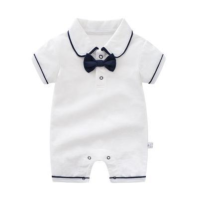 Boy's Romper - white / 3M - Baby Boys clothing