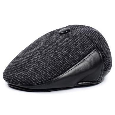 Briton Winter Driving Cap - black / 59-60cm - men's hats