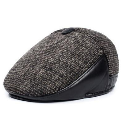 Briton Winter Driving Cap - brown / 61-62cm - men's hats