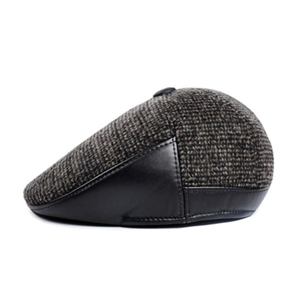 Briton Winter Driving Cap - men's hats