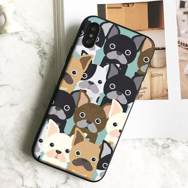 Bulldog iPhone Case - Black / For iPhone 11 - phone case