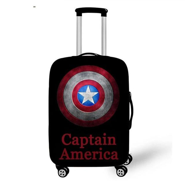 Captain America Luggage Cover - pxtgothic188 / S - Luggage