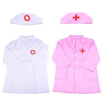 Children Doctor Role Play Costume Dress-Up Set Doctor Lab