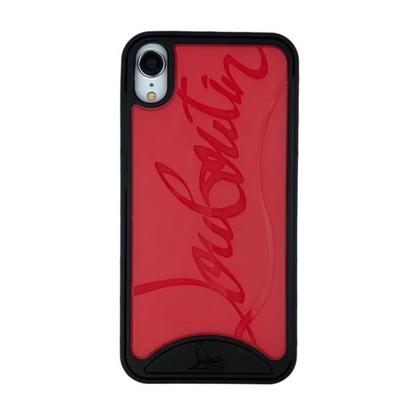 Christian Louboutin Premium Phone Case Black+Red - for