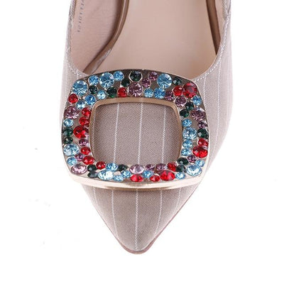 Crystal Embellished Shoe Clip - Shoe Jewelry