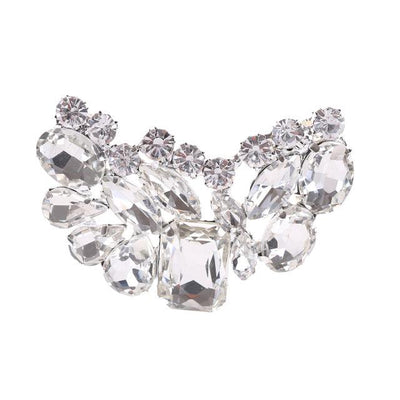 Crystal Embellished Shoe Jewelry Clip - Shoe Jewelry