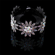 Crystal Hair Clip - 0431-B / Large - Hair Jewelry