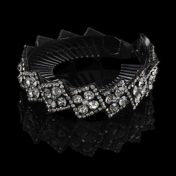 Crystal Hair Clip - 1263-C / Large - Hair Jewelry