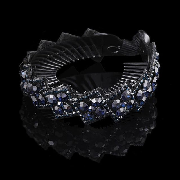 Crystal Hair Clip - 1263-D / Large - Hair Jewelry
