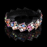 Crystal Hair Clip - 1263-E / Large - Hair Jewelry