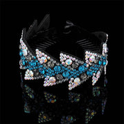 Crystal Hair Clip - 89-E / Large - Hair Jewelry