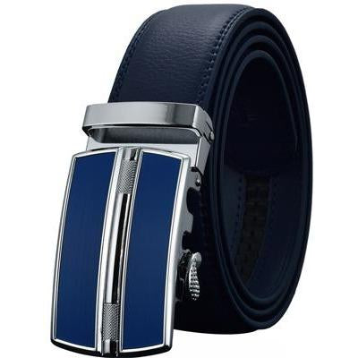 Daniel - Blue / 120CM - Men's belts