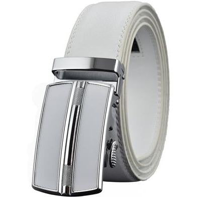 Daniel - White / 120CM - Men's belts
